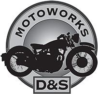d and s moto works logo